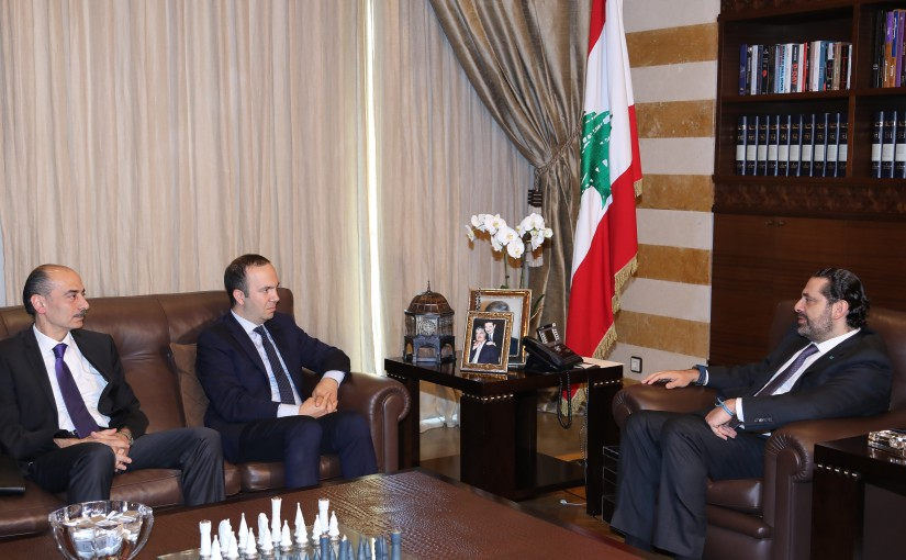 Pr Minister Saad Hariri meets a Turkish Delegation