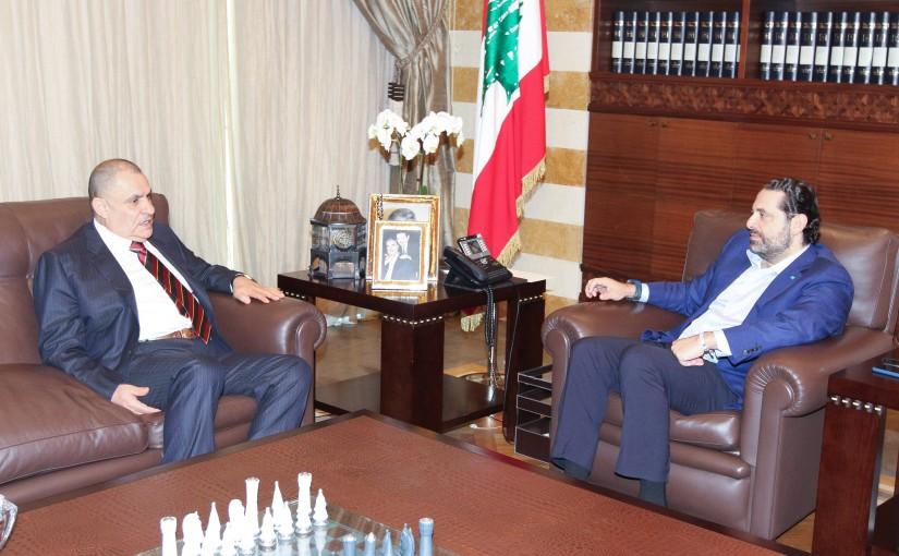 Pr Minister Saad Hariri meets Mr Mouhamad Jassem