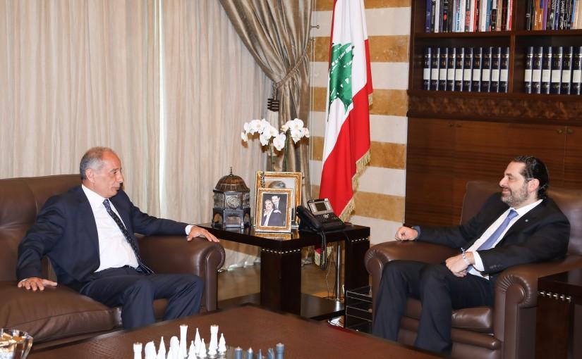 Pr Minister Saad Hariri meets MP Jean Taloujian