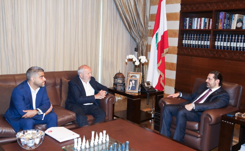 Pr Minister Saad Hariri meets a Delegation from Project Lebanon