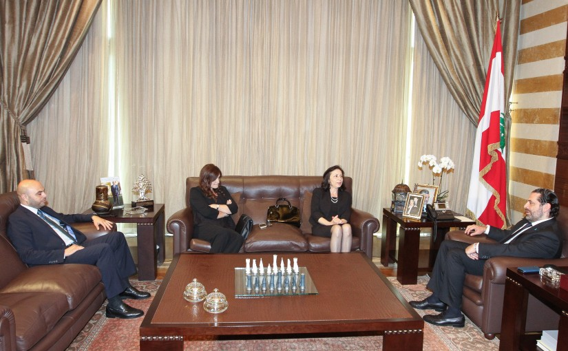 Pr Minister Saad Hariri meets Family of the Late Souheil Bouji