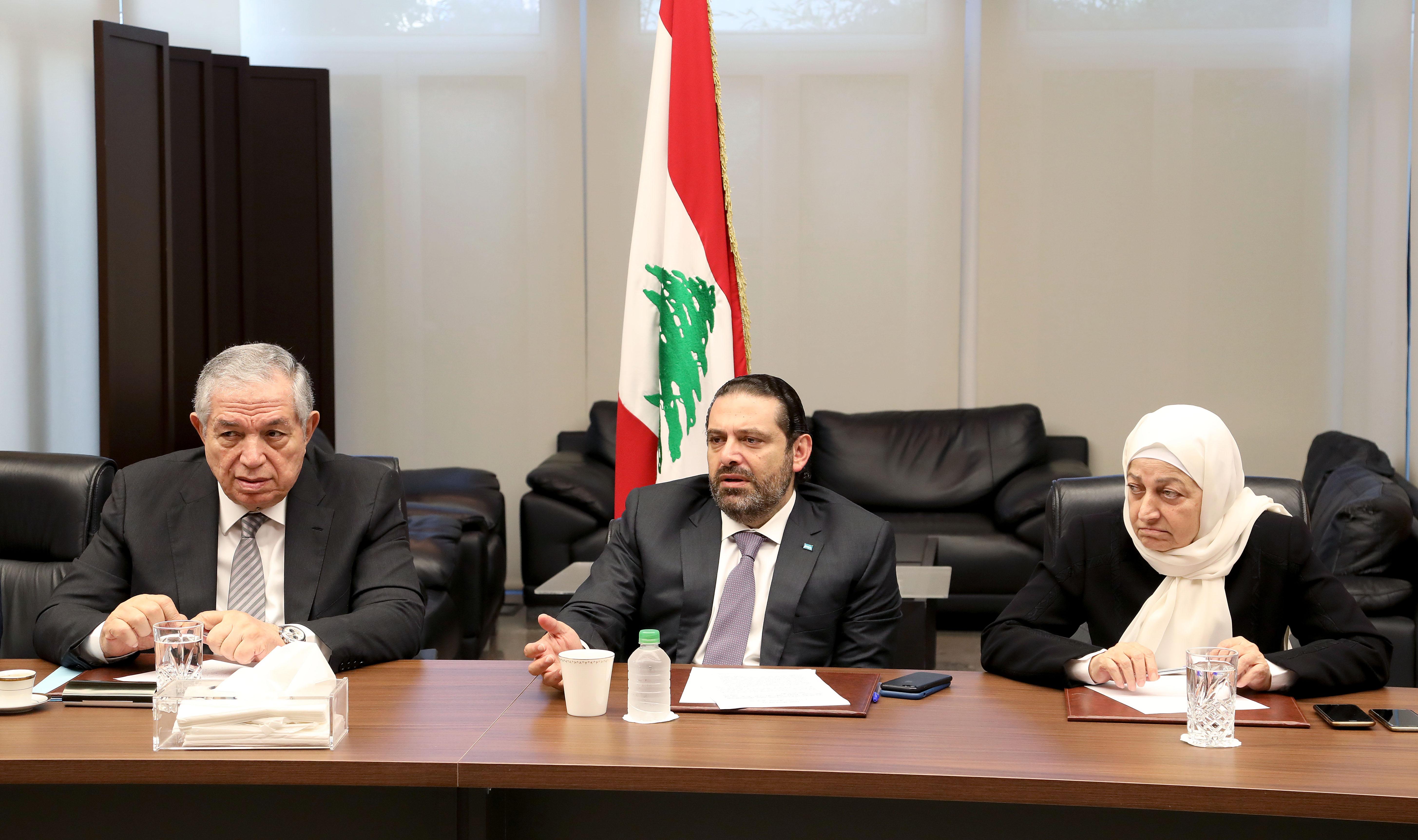 Pr Minister Saad Hariri Heading Almustaqbal MPs Bloc 1