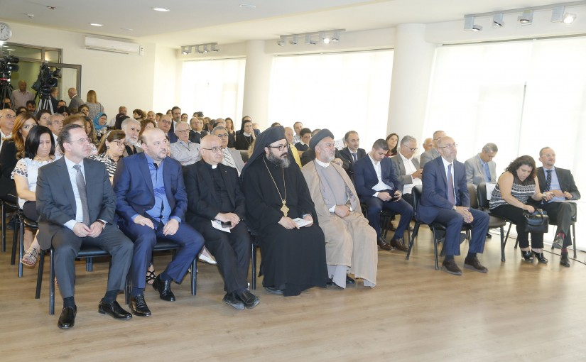 Minister Melhem Riachi Attends a Conference at Sin el Fil Municipality