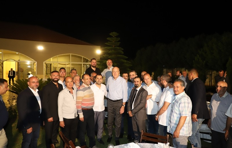 Dinner Hosted by Tripoly Traders in Honors of Former Pr Minister Najib Mikati
