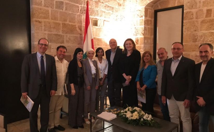 Former Pr Minister Najib Mikati meets a Delegation from Tripoli Families