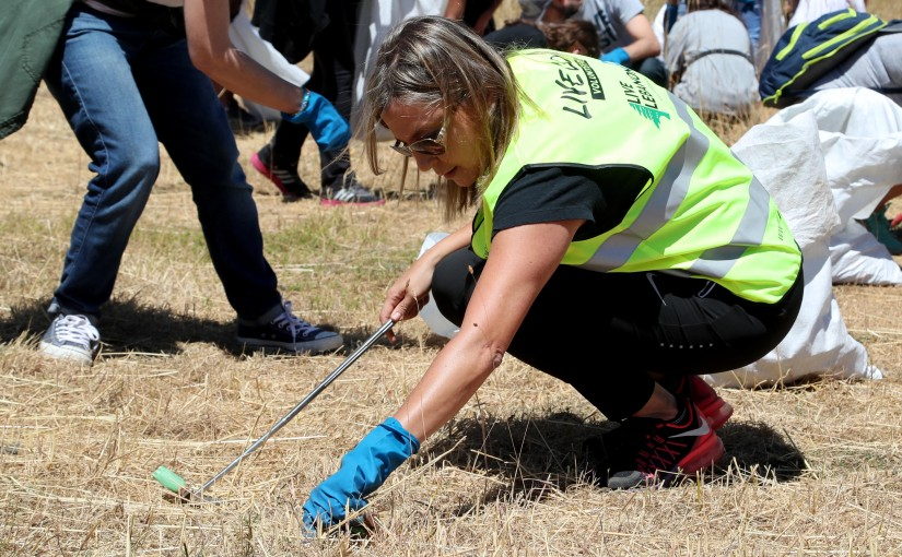 Campaign For Collecting Birds Hunting Cartridges in Akoura