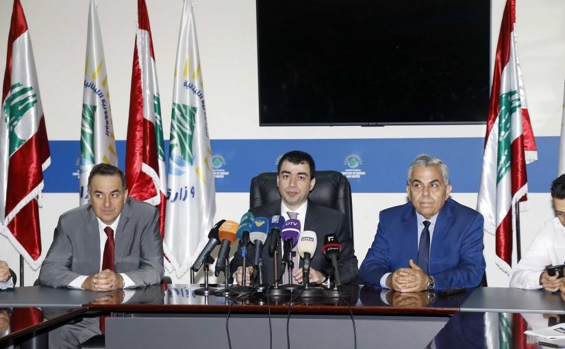 Press Conference For Minister Cezar Abi Khalil