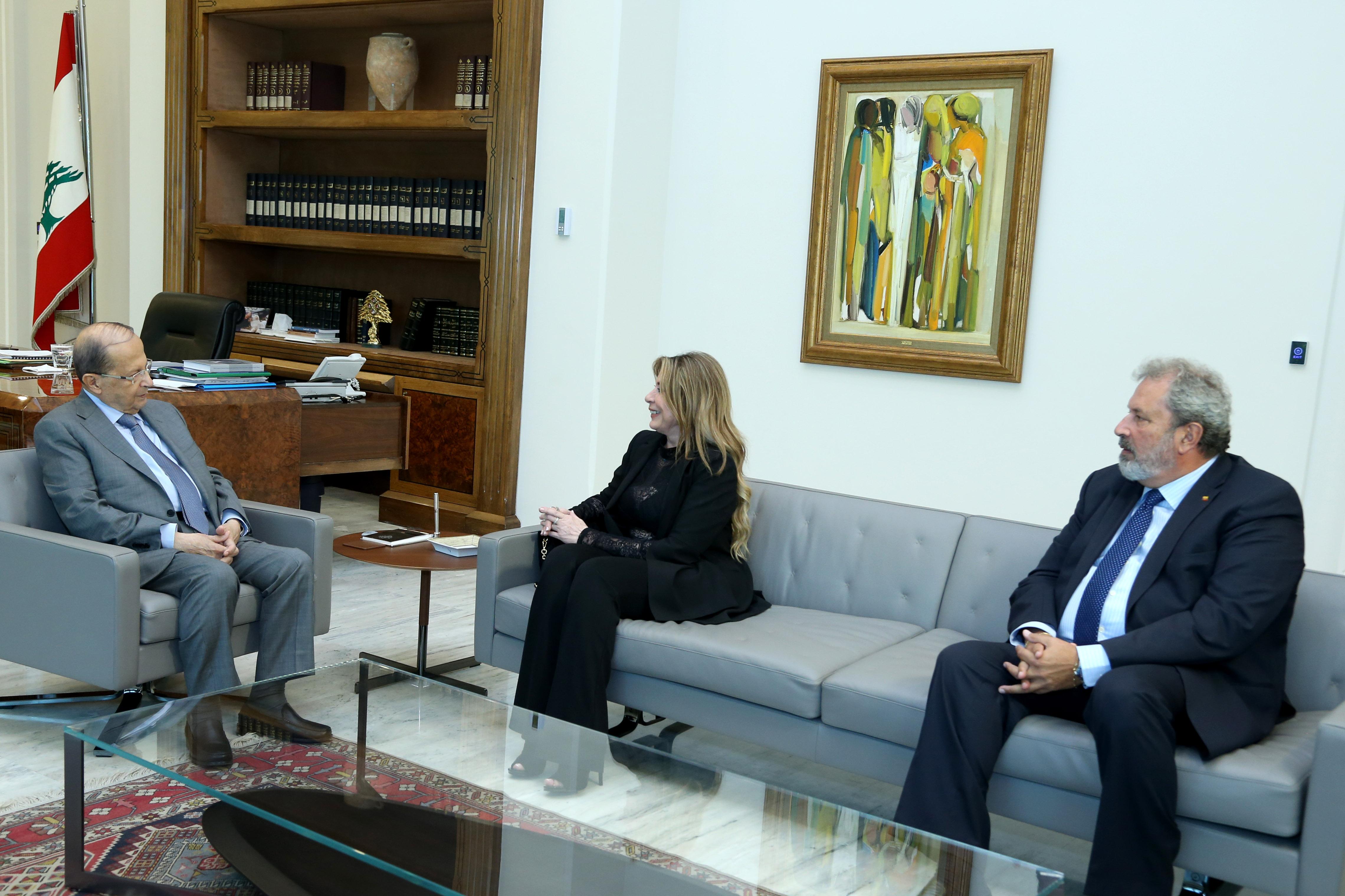Amb Ivon Abed Elbaki