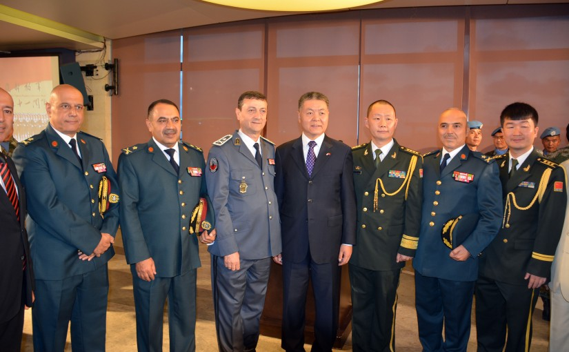 Celebration Ceremony For The 91st Anniversary of the Founding of the Chinese Liberation Army