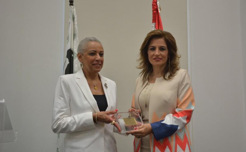 Mrs Laure Sleiman & Mrs Alya Abass Honored By Lebanese Women Association