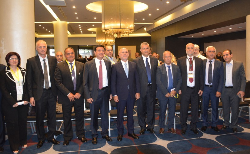 Minister Youssef Fenianos Inaugurates an International Conference ( Addressing the Sustainable Problems of Asphalt in the Middle East by Modern Technology )