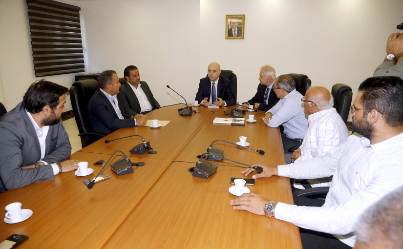 Minister Ghassan Hasbani Meets a Delegation of Environmental Activists from Tripoli & Koura