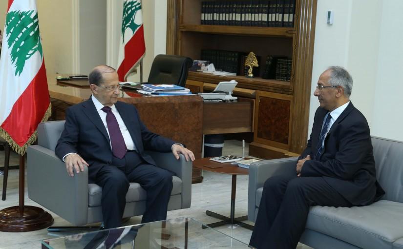 President Michel Aoun Meets Pakistan Ambassador Aftab Ahmad Khokher