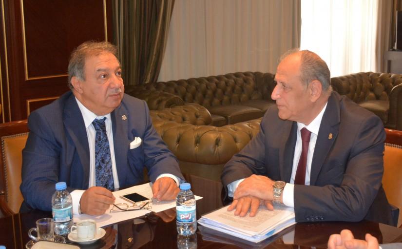 Mr Aoun El Kaaki Meets Minister Jamal Jarrah