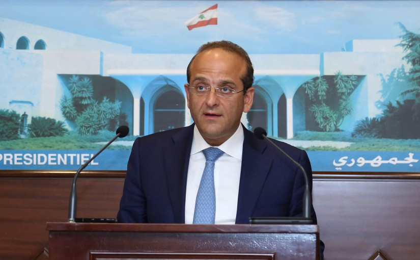 Brief Release For Minister Raed Khoury Before The Press