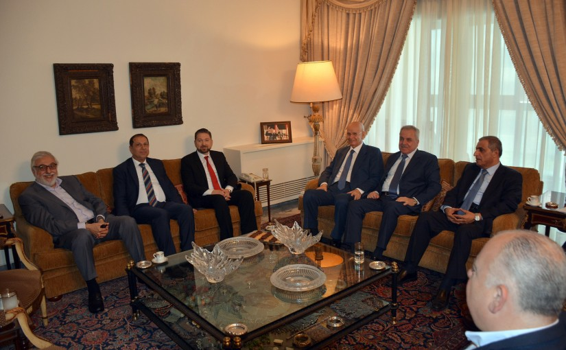 Consultative Meeting at The Residence of The Late Pr Minister Omar Karami