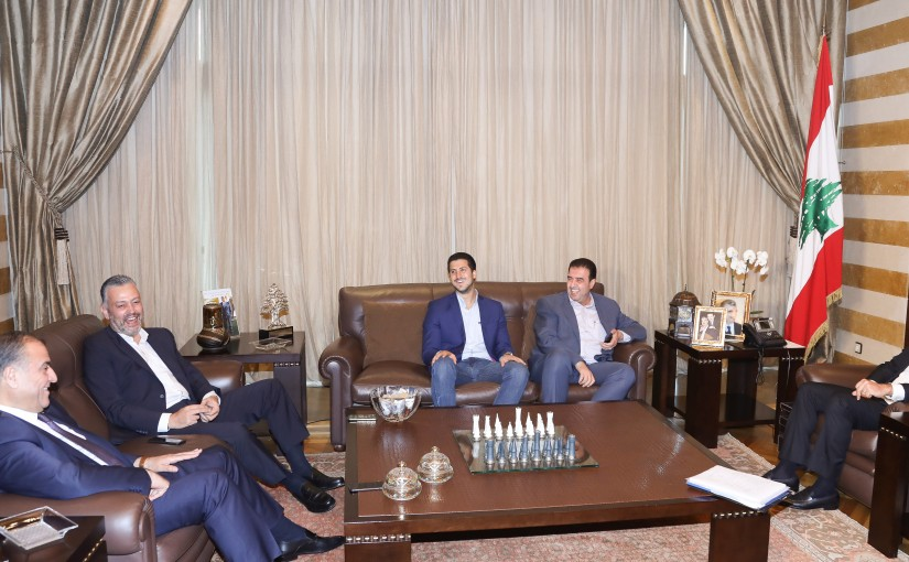 Pr Minister Saad Hariri meets a Delegation from Akkar MPs