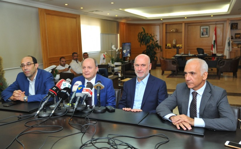 Minister Youssef Fenianos Signed the Collective Contract for Workers & Employees of Beirut Port