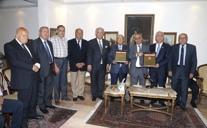 Beirut Ghathering Honors Former MP Muhammad Kabani & Former MP Amar Houri