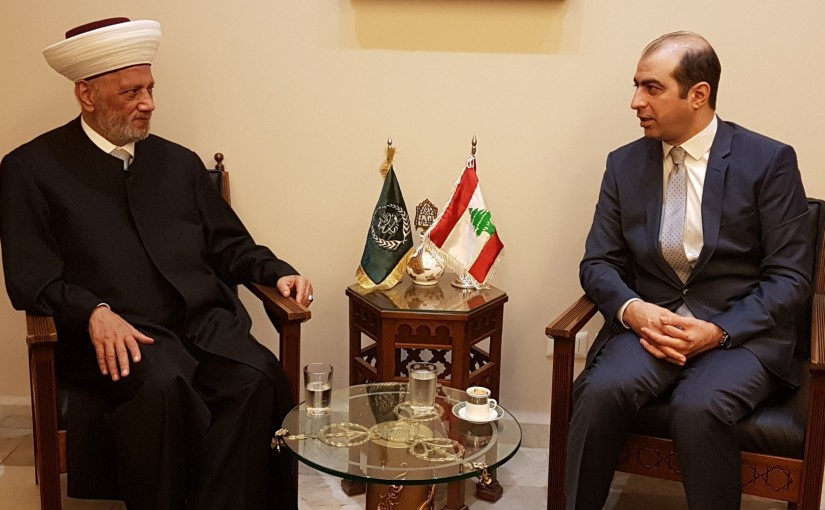 Mufti Abdel Latif Derian Meets General Counsel of Egypt