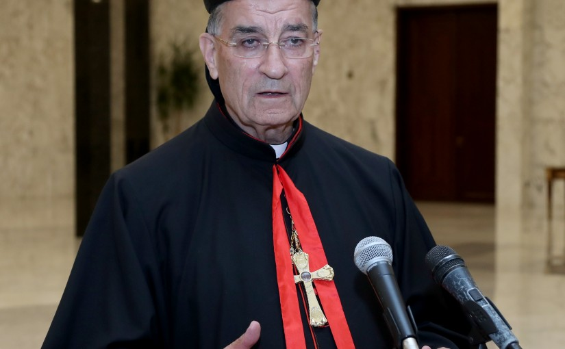 Press Conference for Patriarch Boutros Raii