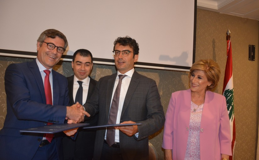 Minister Cesar abi Khalil Attens a Singing Agreements a Gabriel Hotel