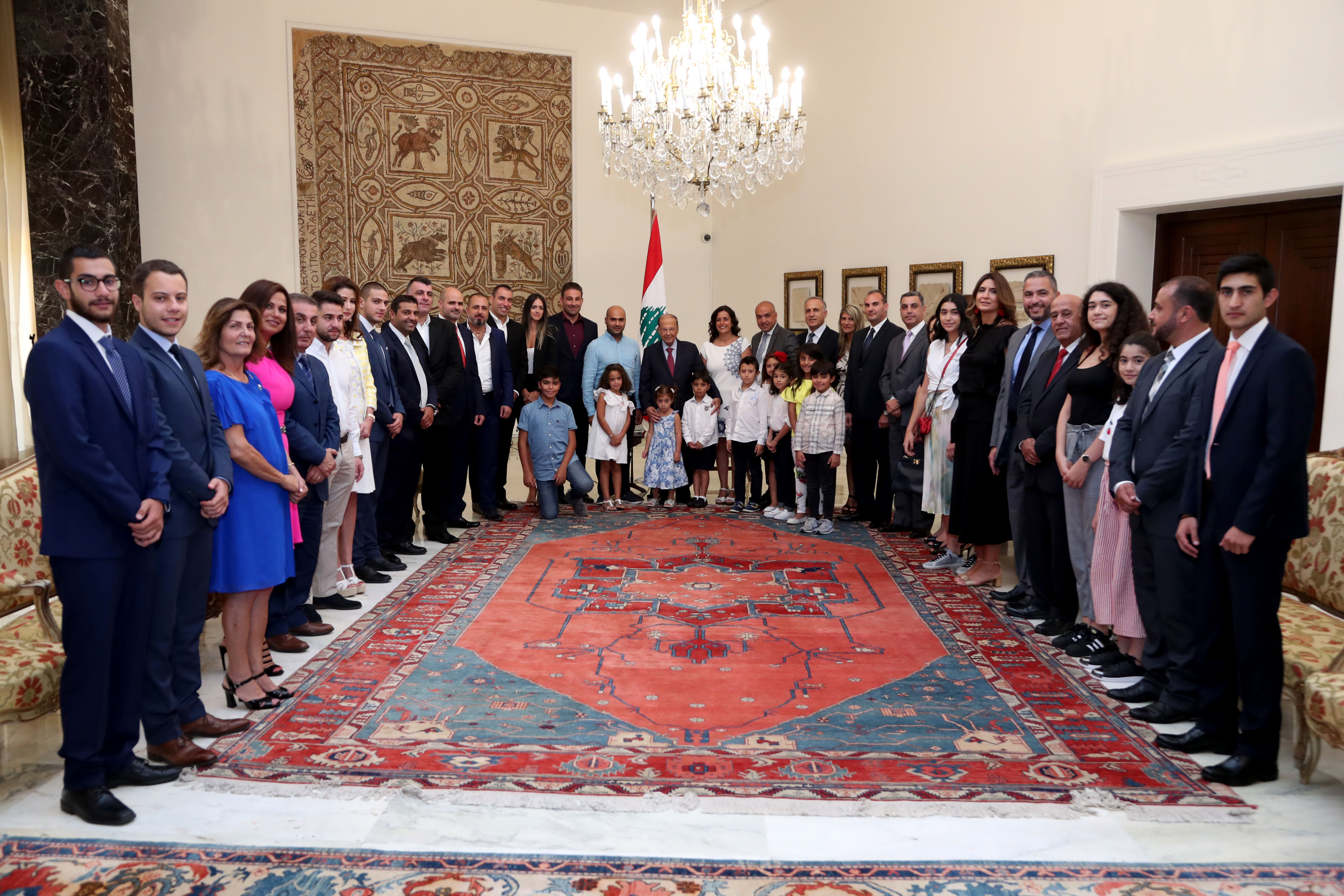 Delegation From Lebanese Diaspora in Gulf States 2