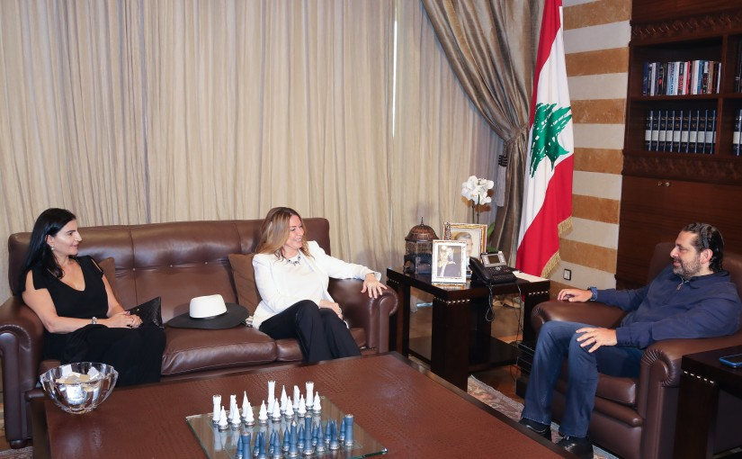 Pr Minister Saad Hariri meets Ambassador Ivon Abdel Baki