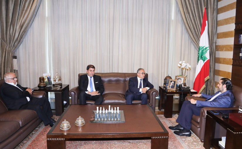Pr Minister Saad Hariri meets a Tunisian Delegation