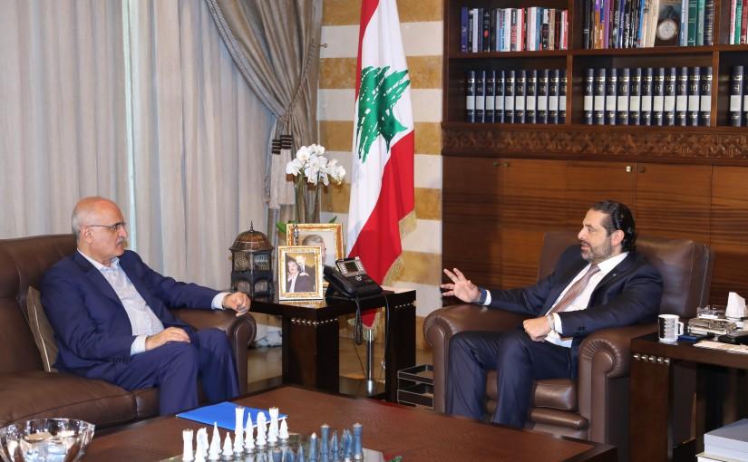 Pr Minister Saad Hariri meets Minister Ali hassan Khalil
