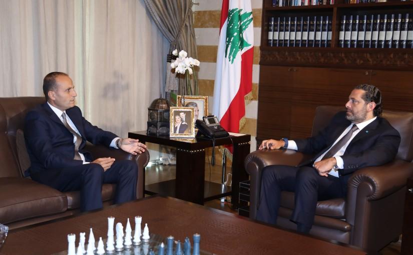 Pr Minister Saad Hariri meets Ambassador Hady Jaber