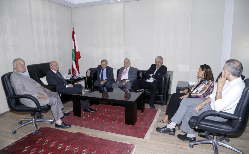 Public Prosecutor Judge Samir Hammoud Meets The Representatives of Audiovisual Bodies