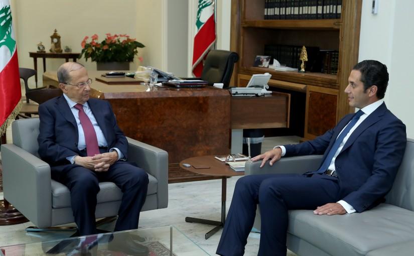 President Michel Aoun meets Albert Semeha