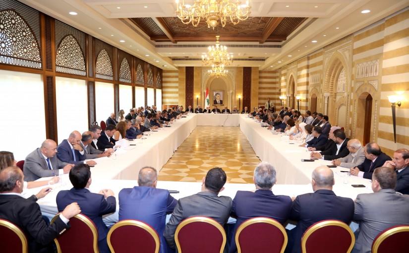 Pr Minister Saad Hariri Heading Almustaqbal Party Meeting