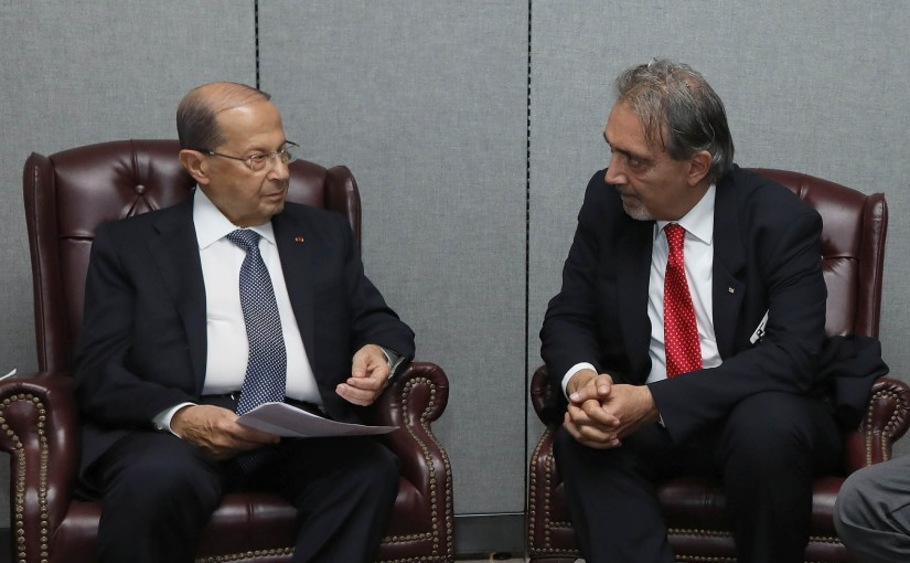 President Michel Aoun Meets President of the International Committee of the Red Cross