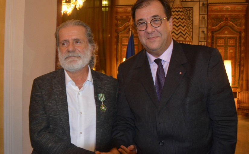 Honoring Ceremony For Mr Marcel Khalifeh at The French Embassy