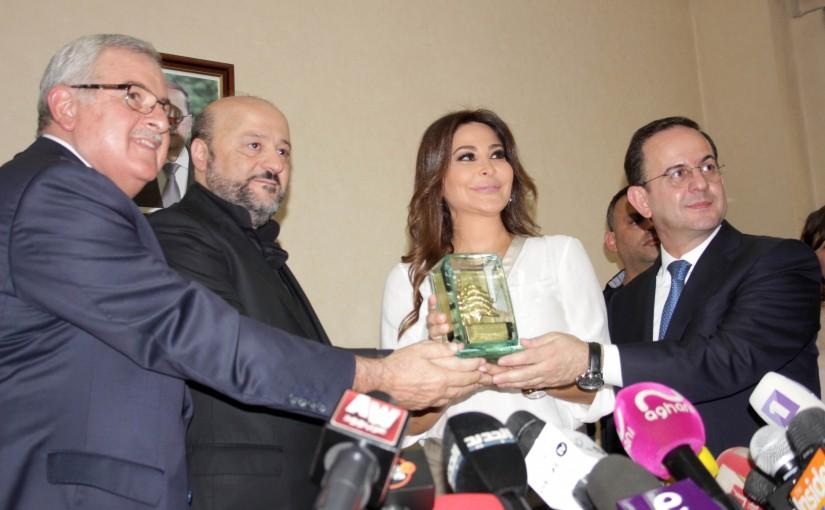 Minister Melhem Riachi Honors Elisa