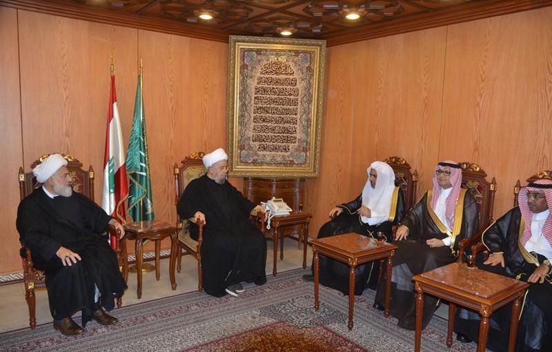 Sheikh Abdel Amir Kabalan Meets Secretary-General of the Muslim World League Dr Mohammed Abdul-Karim Al-Issa