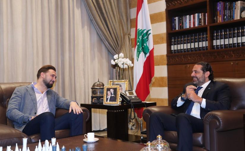 Pr Minister Saad Hariri meets MP Taymour Jounblat