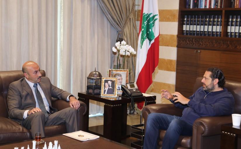 Pr Minister Saad Hariri meets General Tony Saliba