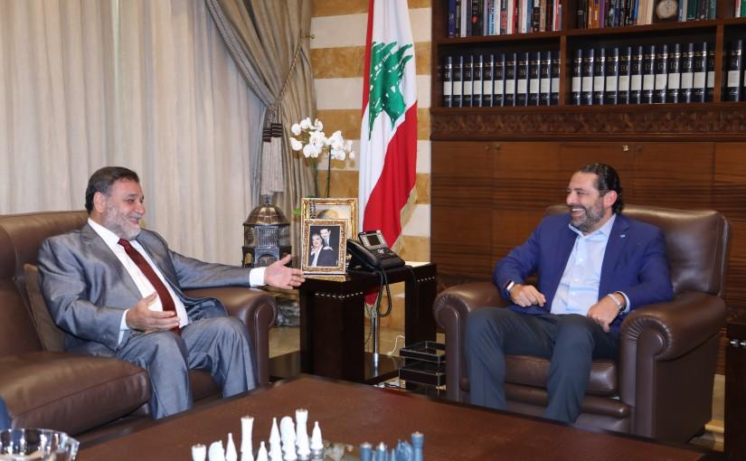 Pr Minister Saad Hariri meets MP Khaled Daher