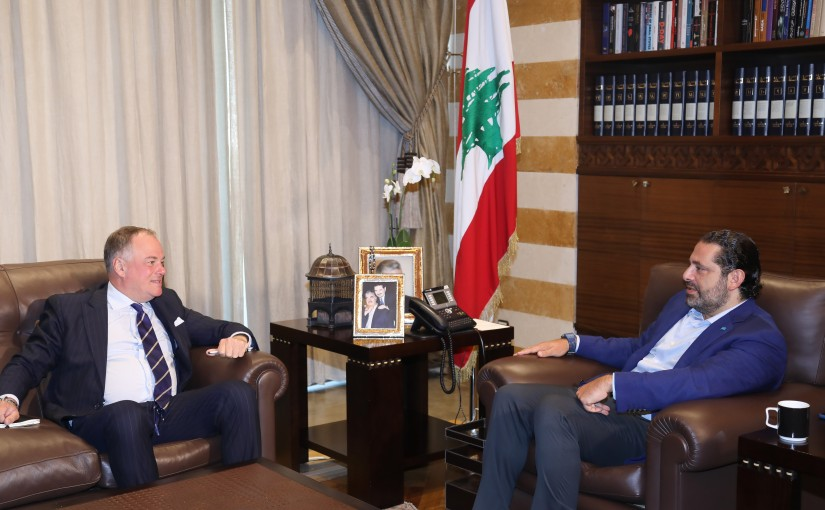 Pr Minister Saad Hariri meets General Stephano Kol