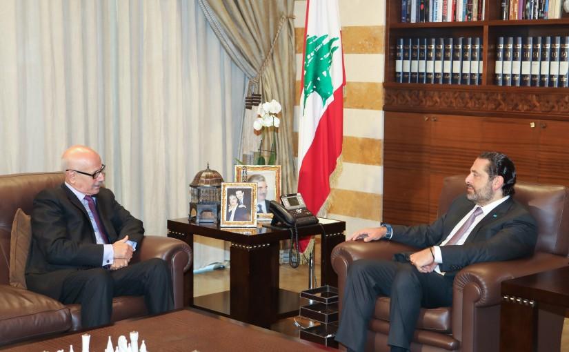 Pr Minister Saad Hariri meets Marroc Ambassador