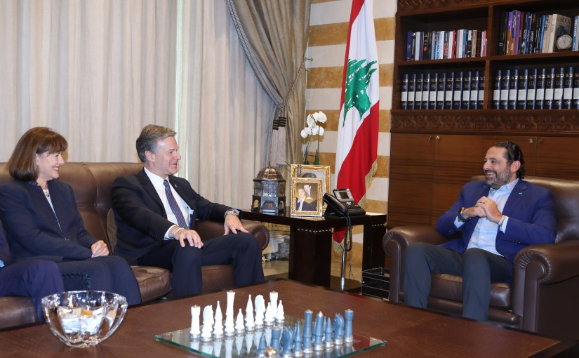 Pr Minister Saad Hariri meets Head of FBI