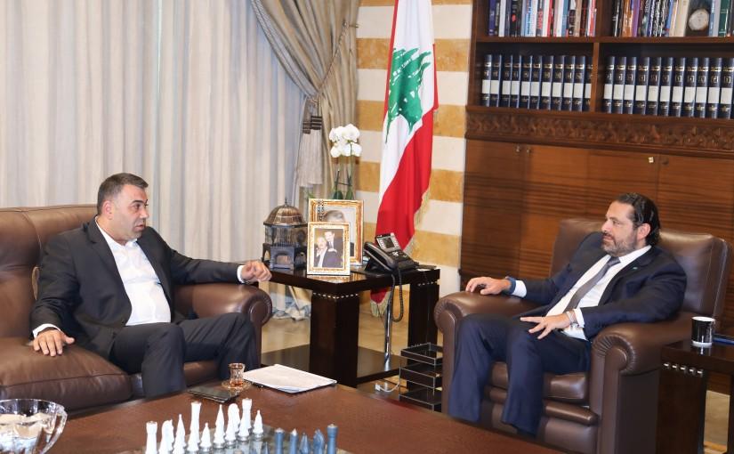 Pr Minister Saad Hariri meets MP Outhman Alam el Dine