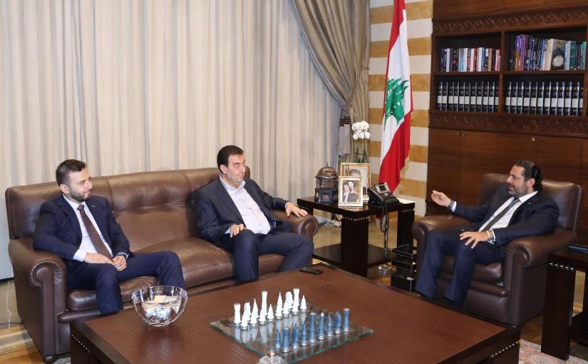 Pr Minister Saad Hariri meets MP Walid Baerini