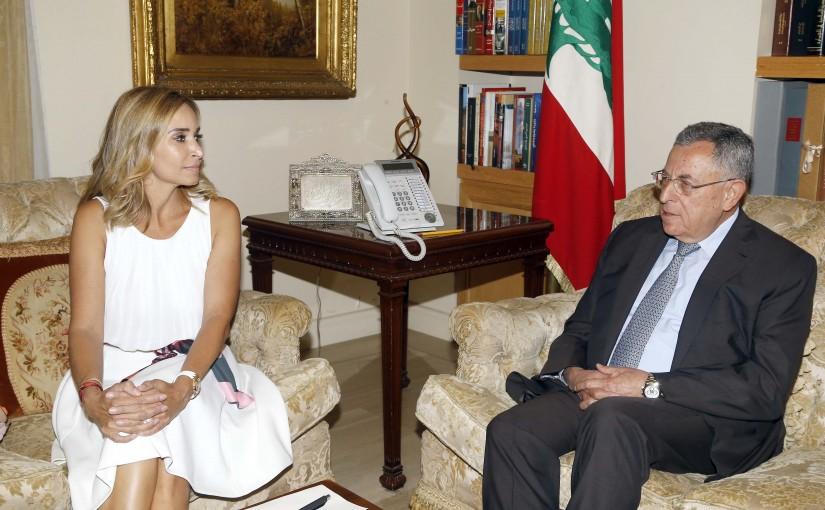 Former Pr Minister Fouad Siniora Meets Swiss Ambassador
