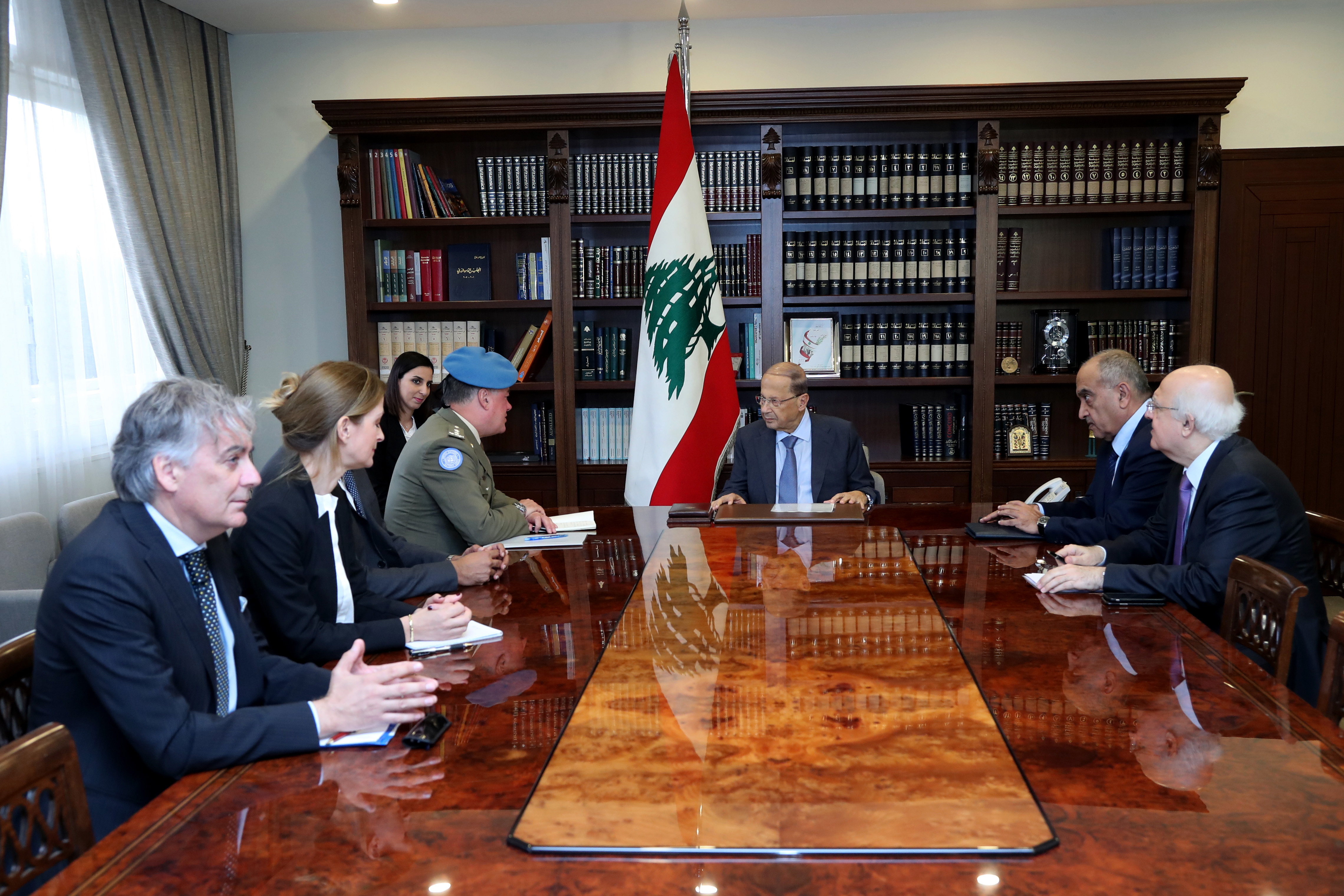 2 - Head of Force Commander of the United Nations Interim Force in Lebanon Major General Stefano Del Col 2