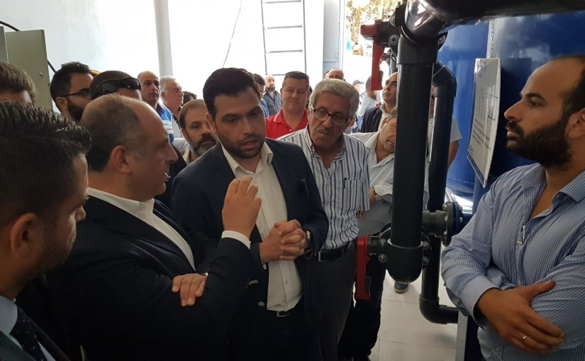 Minister Pierre Bou Assi Inaugurates Water Tank in Hamana Region