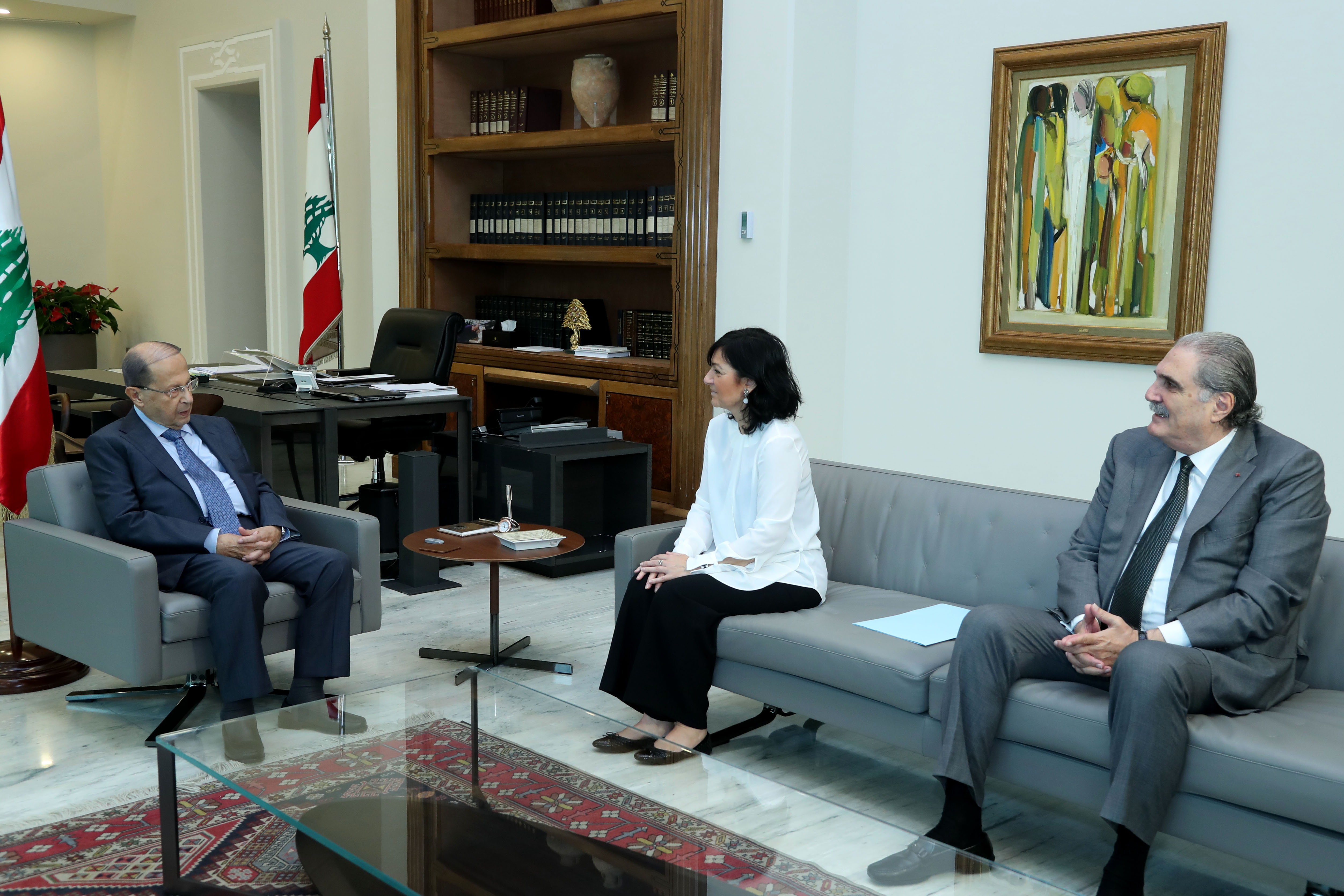 3 - Head of the defense office at the Special Tribunal for Lebanon Dorothee le fraper du hellen